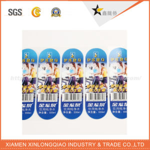 Customized Waterproof Transparent PVC Paper Commodity Adhesive Label Printing Sticker pictures & photos