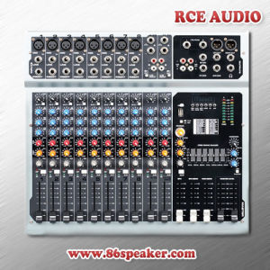 12 Channel Professional Powered USB Mixing Console PRO Audio Mixer with Amplifier