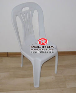 Armless Plastic Chair White Plastic Chair Plastic Chair for Sale pictures & photos