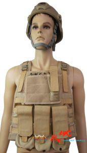 Desert Camo Tactical Ballistic Vest