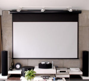Best Quality Screen Projection Screen Projector pictures & photos