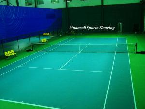 PVC Badminton Sports Surface Flooring pictures & photos