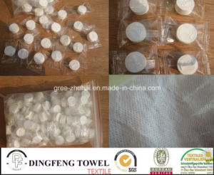 Promotional Non Woven Disposable Compressed Baby Napkins (9g&11g) pictures & photos