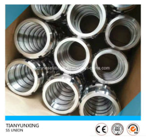 304/316L Forged Sanitary Stainless Steel Union pictures & photos