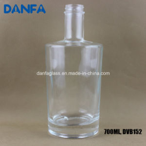 750ml Square Shoulder Glass Vodka Bottle (DVB128) pictures & photos