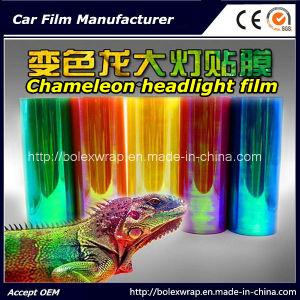 Chameleon Headlight Film, Color Change Car Light Sticker, Decorative Film 30cm*9m pictures & photos