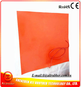 Silicone Rubber Glass Printing Heater 1000*1000*1.5mm 110V 800W pictures & photos