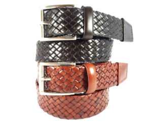 Leisure Braided Leather Belt for Men (EU2431-35) pictures & photos