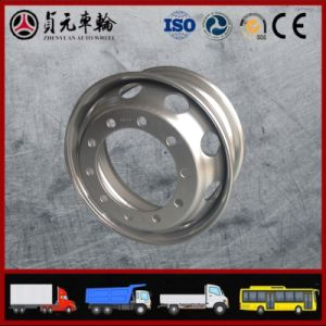 Tube Truck Steel Wheel Rim, Zhenyuan Factory (9.00*22.5 8.5-24)