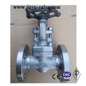 150lb-600lb F304 Flange Gate Valve pictures & photos