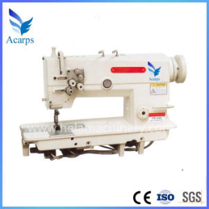 High Speed 2-Needle Needle Feed Lockstitch Sewing Machine pictures & photos