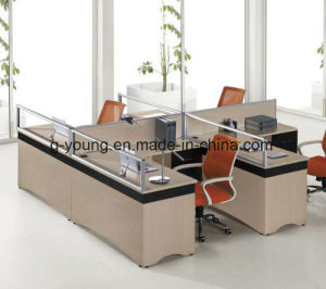 Good Selling Melamine Table Partition Office Furniture pictures & photos
