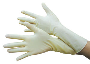 Surgical Natural Yellow Latex Gloves Supplies in Malaysia Wholesale Prices pictures & photos