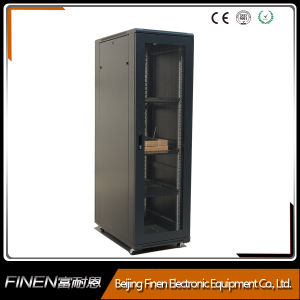 Telecommunication Stainless Steel 19′′ Rack Network Cabinet pictures & photos