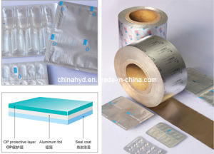 Composited Aluminum Coil for Medicine Packing