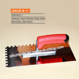B-03 Wooden Handle Plastering Trowel pictures & photos