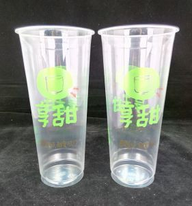 Disposable Clear Plastic PP Drinking Water Cup