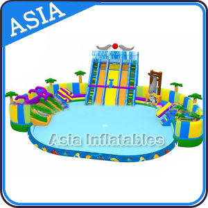 Hoting Sales Inflatable Amusement Park Water Aqua Park for Beach pictures & photos