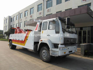 China HOWO Brand 15tons Road Wrecker Truck