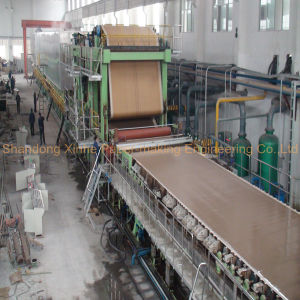 1500/50 Four-Cylinder Multi-Dryer Kraft Paper Making Machine