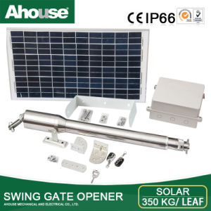 Ahouse 350kg Solar & Electirc Supply Double Swing Gate Opener (EM & CE Approved)