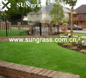 20mm High Quality Synthetic Turf for Landscape/Recreation (QDS-4S-20) pictures & photos