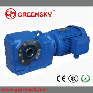 R67 R77 R87 R97 R107 Helical Gear Motor Speed Reductor pictures & photos
