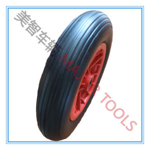 14 Inch 14X3.5-8 PU Foam Wheel for Wheelbarrow Use pictures & photos