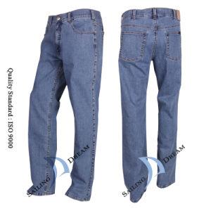 Men′s Leisure Jeans, Cotton Jeans (PJ1202)