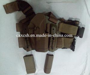Tactical Drop Camo/Black Leg Holster pictures & photos