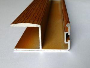 Decorative 6063 T5 Aluminum Profile for Doors (A0113) pictures & photos