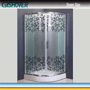 Tempered Shower Glass (Acid No 6) pictures & photos