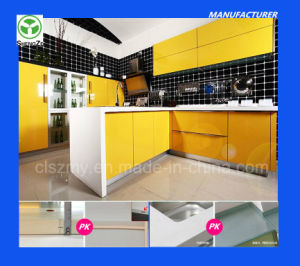 Cheap High Gloss Kitchen Furniture Manufacture (E1, E0 grade) pictures & photos