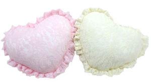 Lace Serise Heart Shape Cushion