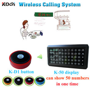 New Arrival Wireless Restaurant Call Bell System with CE pictures & photos