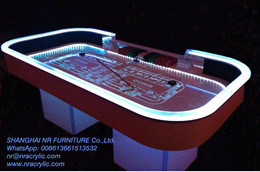 LED Craps Table