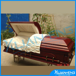 Funeral Supplies Euro Style Wood Coffin pictures & photos
