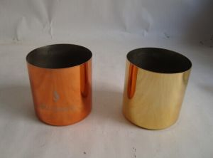 MID Century Copper Candle Holder Cup pictures & photos