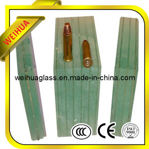 Safety Colored 12.38-40mm Bullet-Resistant Glass/Bullet Resistant Glass with CE / ISO9001 / CCC pictures & photos
