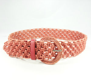Fashionable Women Braided Waistband (EU2596-48)