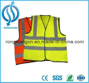 Reflective Safety Black Safety Hi-Vis Mesh LED Vests pictures & photos