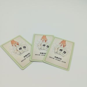 Personalized Customized Game Cards Printing Offensive and Defensive Carton Design Yh338 pictures & photos