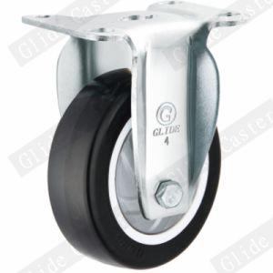 Medium Duty PU Swivel Caster (Black) (Single Bearing) (G3214) pictures & photos