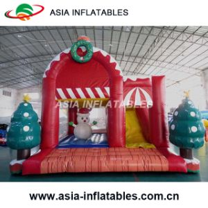 Christmas Inflatable Winter Bounce House Combo pictures & photos