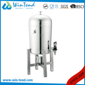 Commercial Hotel Restaurant Stainless Steel Orange Juicer Dispenser with Stand Base pictures & photos