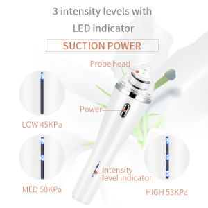 Portable Diamond Microdermabrasion Dermabrasion Vacuum Cleansing Facial Device for Blackhead Remove pictures & photos