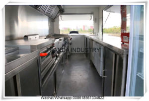 New Zealand Market 2018 New Mobile Food Trailer Food Cart Trailer pictures & photos