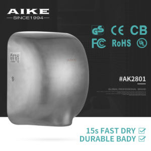 Ball Automatic Sensor Electric Hand Dryer (SS304 Satinless Steel, AK2801) pictures & photos
