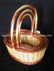 Colorful Wicker Basket for Christmas pictures & photos
