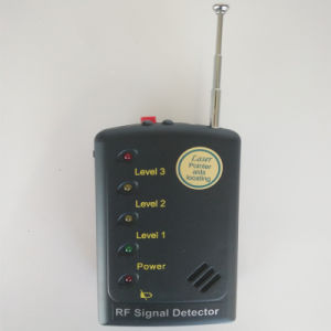 Superior Sensitivity Anti-Wiretap Anti- Candid RF Signal Detector Hard Wire Camera Detection Laser-Assisted Direction Indication Alarm System pictures & photos